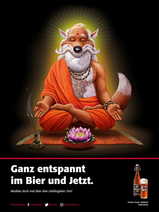 fuechschen-buddha-poster