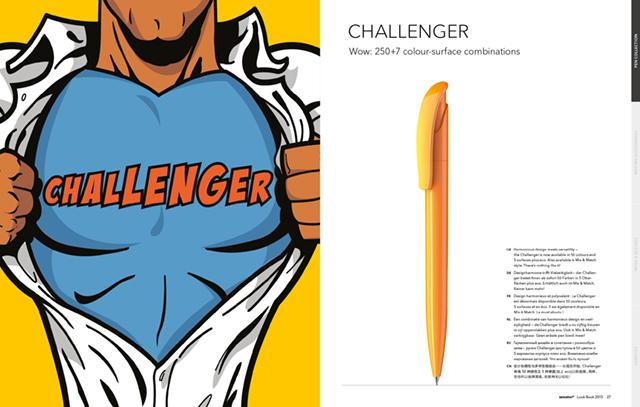 Senator Katalog Produktseite Challenger